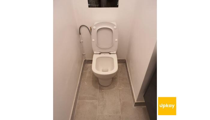 Remplacement WC et mécanisme chasse d'eau Paris 13 590€