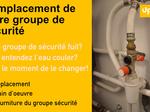 Remplacement groupe de sécurité sur Nancy et envri 149€